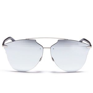 Dior Silver Reflected Prism Sunglasses